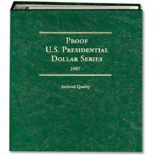 Littleton Coin Album 2007-2016 Presidential Dollar Proof LCA71 Quality Storage