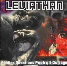 Leviathan Riddles questions poetry & outrage (1996) [CD]