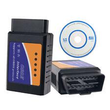 Bluetooth/WIFI OBDII Car Diagnostic Scanner Auto Fault Code ELM327 Reader Tool