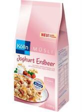 (1000g=5,54€) Kölln Müsli Joghurt Erdbeer - Vorratspackung 1,7kg - Erdbeermüsli