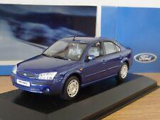 MINICHAMPS FORD MONDEO MK3 SALOON BLUE 2000 CAR MODEL 433 080004 1:43