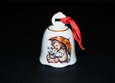 """M.J. Hummel / Reutter Porzellan Bell Ornament - """"Umbrella Girl"""" Mint Condition"""