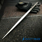 """14"""" Fixed Blade Hunting Knife TWISTED HAND FORGED CARBON STEEL SWORD Tent Stake"""