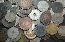 25 Old Foreign Coins: Avg catalog value over $3 each. All 70+ yrs old