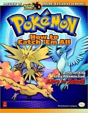 How to Catch 'em All: Prima's Official Pokemon Guide (Prima Official Game Guide