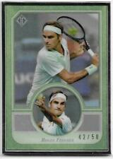 2020 Topps Transcendent Collection Hall of Fame Tennis #3 ROGER FEDERER 42/50