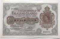 IRLANDE - 50 PENCE (20.02.1974) - Billet de banque // SPL