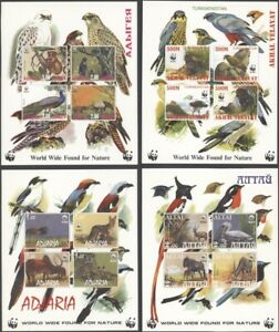 RUSSIA, 1995. VARIOUS Post Soviet Republics, Wild Animals Min. Sheets (26)