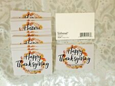 """""""  HAPPY THANKSGIVING""""... Pass it Along Cards, NEW in pkg 25 pc 3x2"""""""