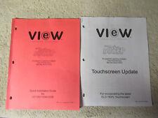 VIEW JUKE BOOST TOUCHSCREEN  JUKEBOX  owners manual