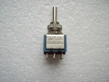 STM MS-500 Kippschalter 2-polig EIN-Aus-EIN Schalter 2xUM 6A 125V AC 1Stck.