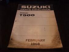 OEM Suzuki Parts Catalogue Manual 1968 500 Model T500 T 500
