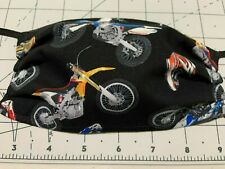 KID CHILD Face Mask MOTOCROSS MOTOR CYCLE DIRT BIKE Cloth Washable same day ship
