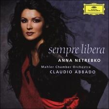 Sempre Libera by Anna Netrebko (CD, 2004, Deutsche Grammophon) NEW! FREE S&H