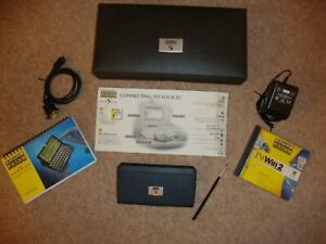 Psion Series 5 PDA, in VG condition Boxed, + software, manual & PSU