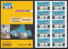 Bund Folienblatt 31 ** 10 x Nr.3016  Schloss Glücksburg  aus 2013  postfrisch