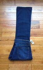 FABULOUS! NWT Old Navy The Flirt BootCut Dark Blue Jeans Womens 12 Short W34 L30