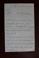 ✒ L.A.S. Jules VIALET corniste Quintette à vent Paul TAFFANEL à Fernand HALPHEN