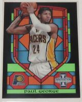 2013/14 Paul George Pacers Panini Innovation Stained Glass Insert Card #56 MT