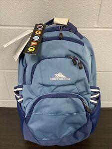 "***NEW*** High Sierra Swoop SG 19"" Graphite Blue/True Navy Backpack"