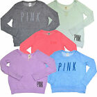 Victoria's Secret Sweater Lightweight Pullover Knit Top Shirt Vs Pink New Nwt