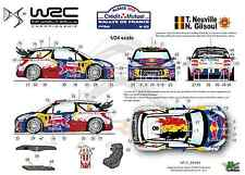 [FFSMC Productions] Decals 1/24 Citroën DS3 WRC Neuville Rallye de France 2012