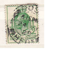 Great Britain George V Postal Union Congress halfpenny stamp used