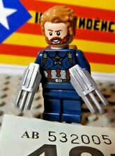 Lego Marvel Captain America Minifigure from 76101 New ref 421