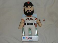NEW San Francisco Giants Brian Wilson Bleacher Creatures Plush Toy Doll sf beard