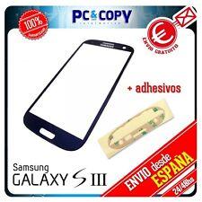 CRISTAL DE PANTALLA PARA SAMSUNG GALAXY S3 i9305T TOUCH SCREEN NEGRO LCD +ADHESI