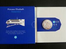 "BELGIQUE 10 € Euro 2007 ""Princesse Elizabeth Antartica"" QP PROOF *Argent*"