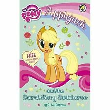 My Little Pony - Applejack and the Secret Diary Switcheroo [Paperback]