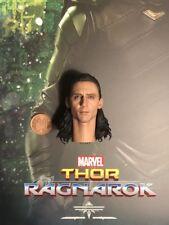 Hot Toys Thor Ragnarok Loki MMS472 Head Sculpt loose 1/6th scale