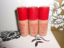 CLARINS COLOUR TINT  02 NATURAL BEIGE 10ML BOTTLES X3 SO 30ML IN TOTAL