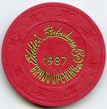 Eddies Fabulous 50's Casino -Reno - Grand Opening Chip -1987
