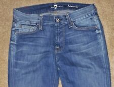 WOMEN *7 FOR ALL MANKIND* KIMMIE BOOT DENIM JEANS SIZE 28 X 31