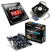 AMD FX 4300 Quad Core 4.00GHz Gigabyte 78LMT-USB3 Motherboard Bundle