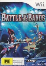 Wii Battle of the Bands - NEW (SEALED)