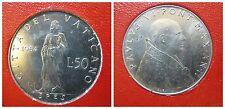 Citta' del Vaticano / Vatican Paolo VI 50 Lire 1964 fdc/unc