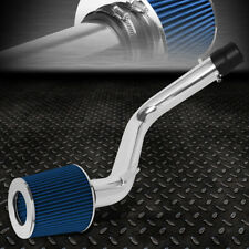 FOR 98-02 HONDA ACCORD V6 LIGHTWEIGHT COLD AIR INTAKE SYSTEM+BLUE CONE FILTER