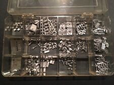 HO Model Train Lot Of Cast Metal Detail Parts & Pieces For Locomotives?