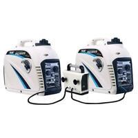 Pulsar 2300 Watt Portable Inverter Generator 2pc Combo W/  Parallell Kit GN200KT