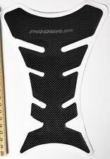 1pc Carbon Fibre Fuel Tank Pad Protector Sticker Motorcycle Universal