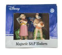 DISNEY Figurine Salt and Pepper Shakers Set JUNGLE BOOK Mowgli Shanti