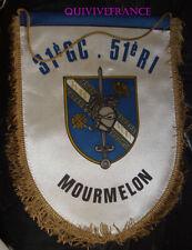FAN151 - PETIT FANION 51° RI - 31°GC MOURMELON