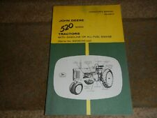 New ListingJohn Deere 520 Series Farm Tractor Owner's Operator's Manual Book Om-R2074