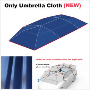 Portable Folded Car Vehicle Roof UV-Proof Sun Shelter Oxford Cloth Umbrella Tent