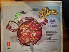 VINTAGE Muppets Sound Trap Drumset - SUPER RARE PRODUCTION SAMPLE.  Never Opened