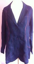 Patternless Blazer Petite Coats & Jackets for Women
