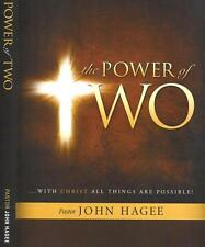Power of Two..With Chirst all things are possible 3 Dvd John Hagee July/Aug Sale